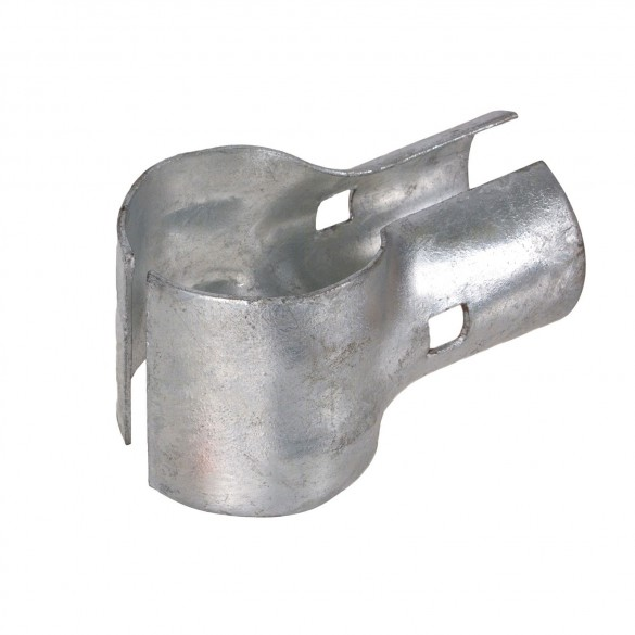 """2 1/2"""" x 2"""" End Rail Clamp For Greenhouse"""