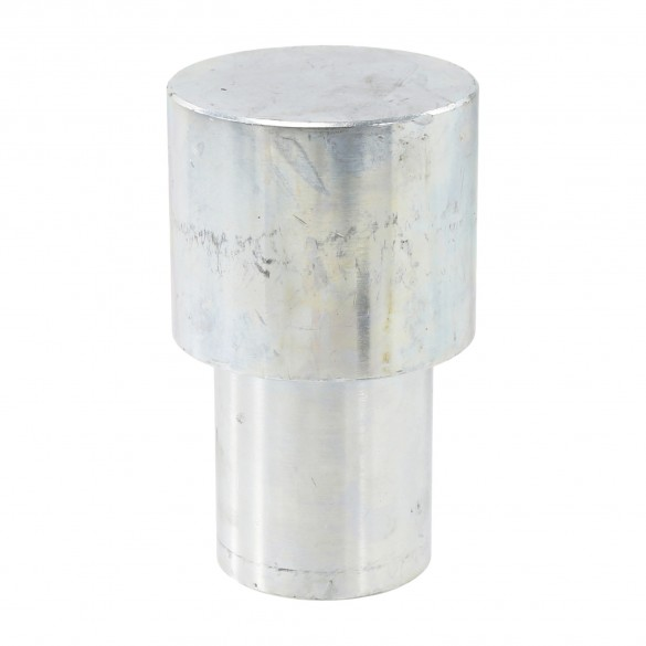 """Jiggly Greenhouse® Ground Post Driver For 2 1/2"""" [2 3/8""""  OD]] Pipe - Post Driver Cap"""