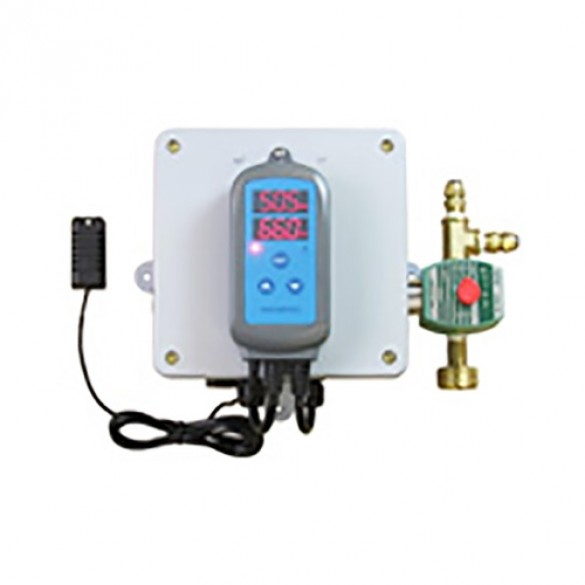 Digital Humidistat & Solenoid Package for Dual Direct Feed Units (115V) Jiggly Greenhouse®