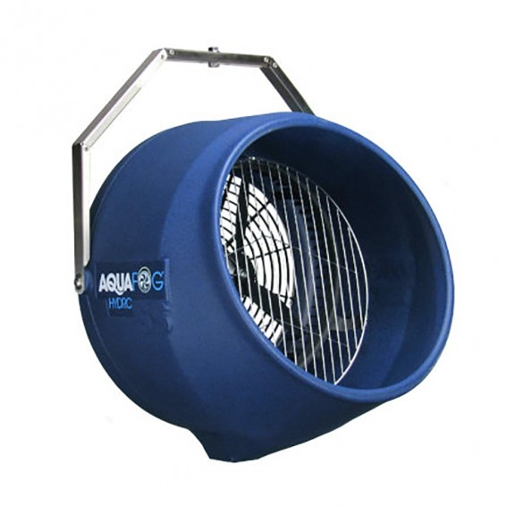 Jiggly Greenhouse® Hydro SS 700 Direct Feed Fog Fan with Water Solenoid