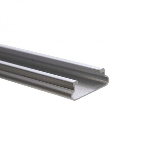 Jiggly Greenhouse® Aluminum Locking U-Channel For Jiggly Greenhouse® Jiggly Wire (6.5 ft.)
