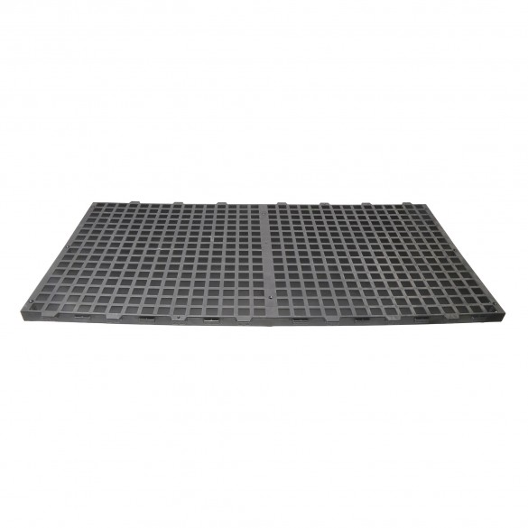 2' x 4' Black Plastic Bench Top Panel For Greenhouses (Top Panel Only) Jiggly Greenhouse®