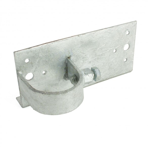"""Wood to Steel Adapter 2"""" x 6"""" End (Fits 1 7/8"""" OD)"""
