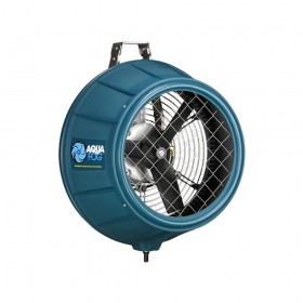 Turbo XE Commercial Direct Feed Misting And Fogging Fan For Greenhouse Ventilation (50Hz) w/ Flowmeter Jiggly Greenhouse®