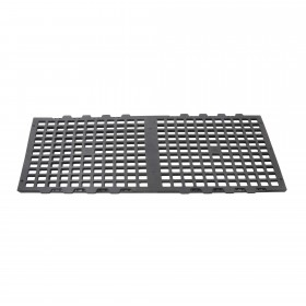 1 1/2' x 3' Black Plastic Greenhouse Bench Top Panel For Greenhouses (Top Panel Only) Jiggly Greenhouse®