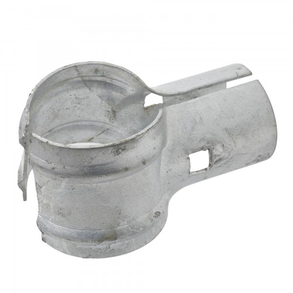 """Jiggly Greenhouse® 2 1/2"""" x 1 5/8"""" End Rail Clamp For Greenhouse (Fits 2 3/8"""" OD)"""
