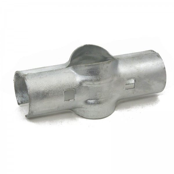 """2"""" x 1 5/8"""" Line Rail Clamps for Chain Link Fencing"""