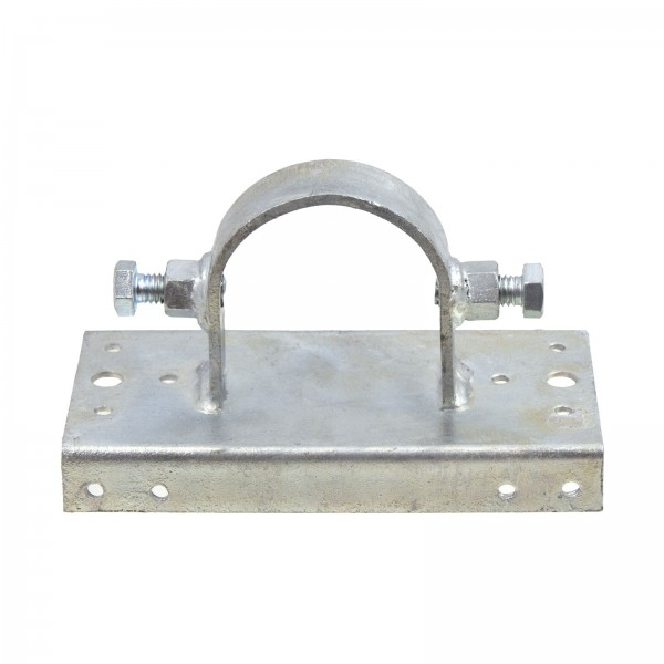"""Wooden Fence to Steel Post Line Adapter 2 1/2"""" x 6"""""""